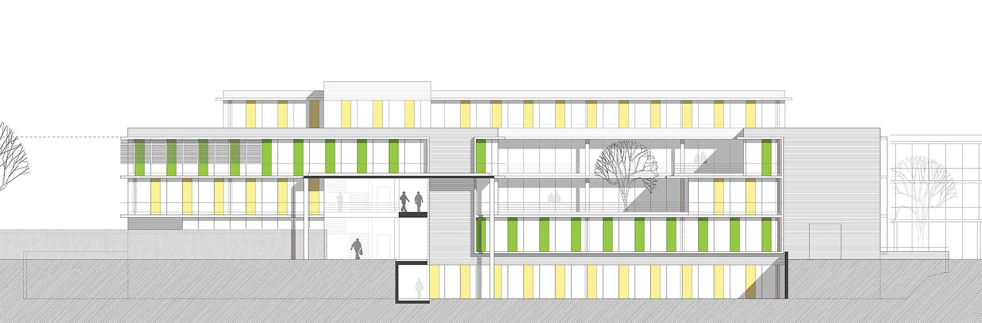 Architekt Weinheim wettbewerb ärztehaus in weinheim oho architekten stuttgart