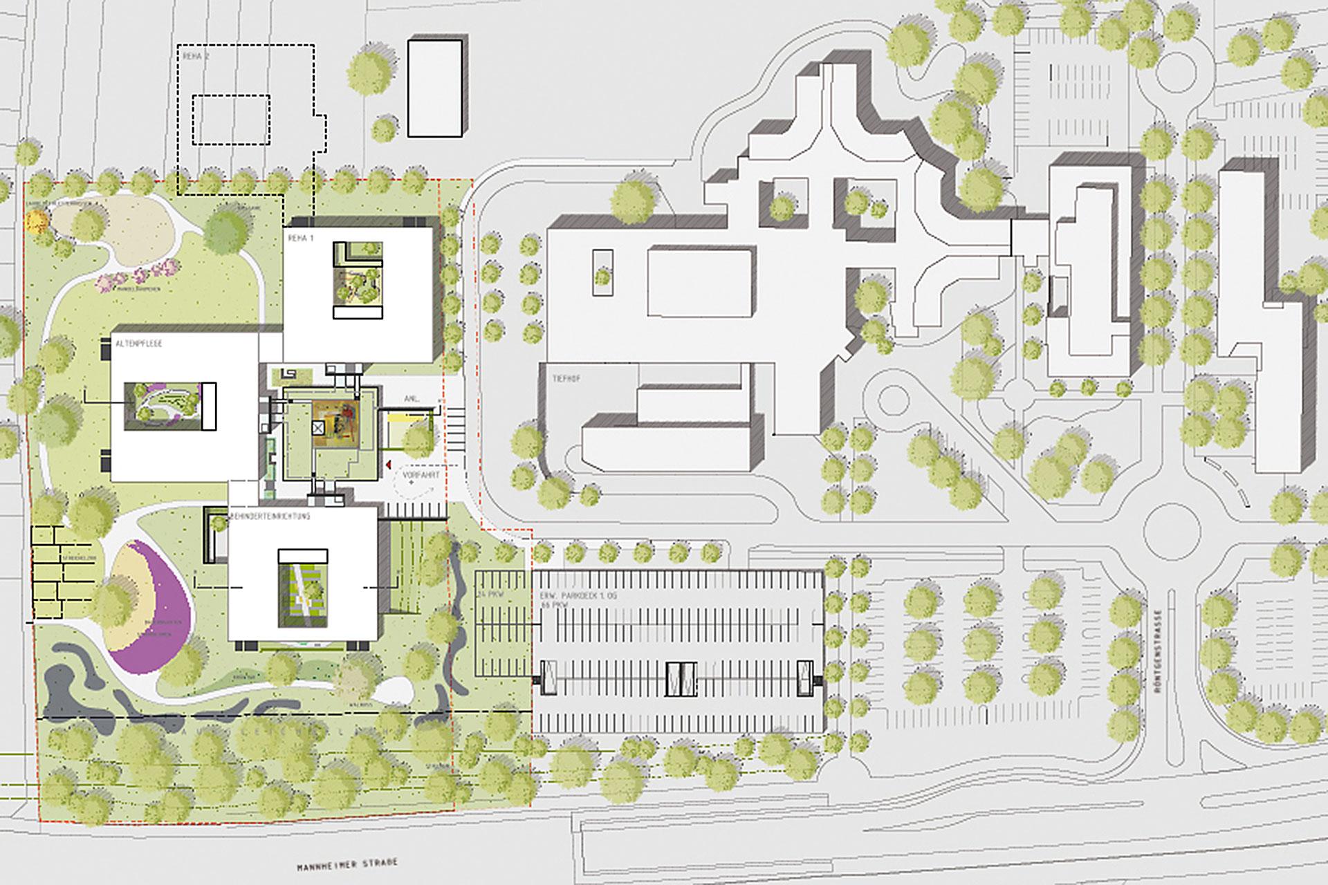 Architekt Weinheim wettbewerb pflege und betreuungseinrichtung in weinheim oho